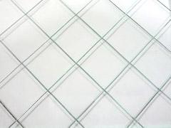 網入透明ガラス